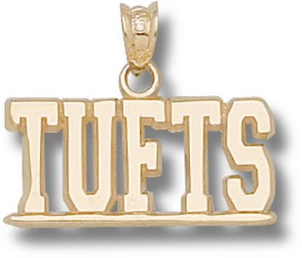 """Tufts Jumbos """"Tufts"""" Pendant - 10KT Gold Jewelry"""