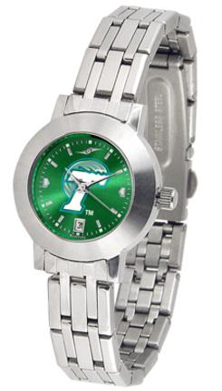 Tulane Green Wave Dynasty AnoChrome Ladies Watch