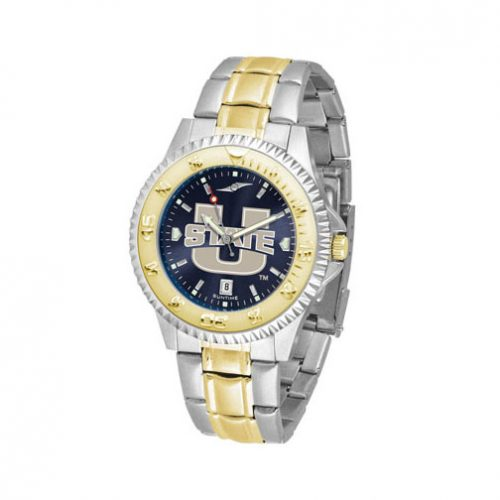 Utah State Aggies Competitor AnoChrome Two Tone Watch