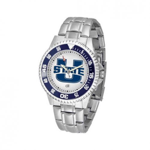 Utah State Aggies Competitor Watch with a Metal Band