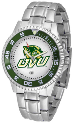 Utah Valley State (UVSC) Wolverines Competitor Watch with a Metal Band