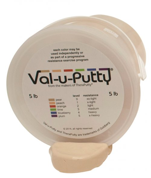 Val-U-Putty 10-3950 5 lbs Exercise Putty Pear - 2X Soft