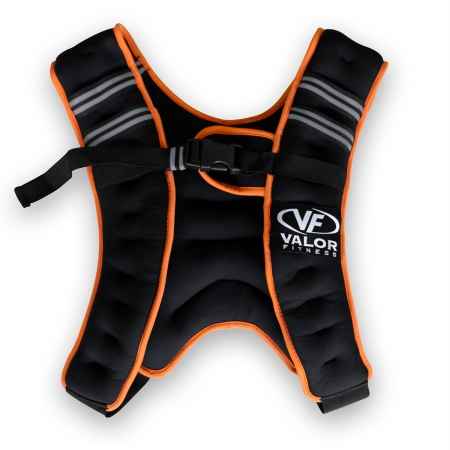 Valor Fitness EH-18 18 lbs Weight Vest Silver