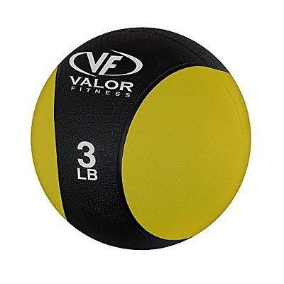 Valor Fitness RXM-3 Medicine Ball 3-Pound
