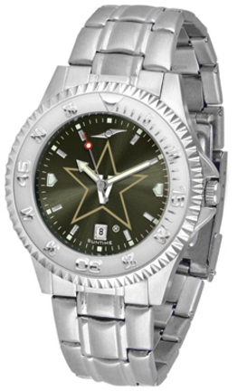 Vanderbilt Commodores Competitor AnoChrome Men's Watch with Steel Band