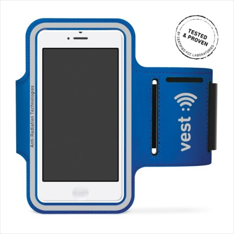 Vest Anti-Radiation Armband Up to 5 in. - Blue
