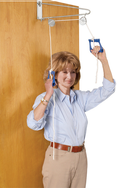 WMU 478260 Over Door Exercise Pulley - Patient Therapy and Rehabilitation