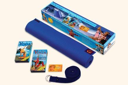 Wai Lana Productions 150 Easy Beginning Yoga Kit