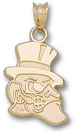 "Wake Forest Demon Deacons ""Deacon"" 5/8"" Lapel Pin - 10KT Gold Jewelry"