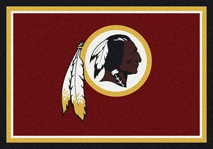 "Washington Redskins 3' 10"" x 5' 4"" Team Spirit Area Rug (Red)"