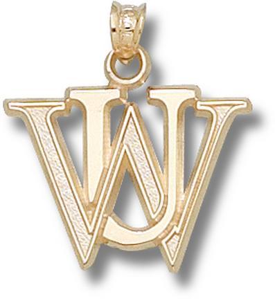 "Washington (St. Louis) Bears ""WU"" Pendant - 10KT Gold Jewelry"