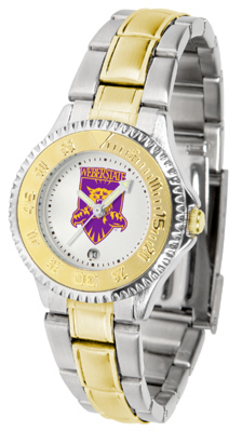 Weber State Wildcats Competitor Ladies Watch with Two-Tone Band