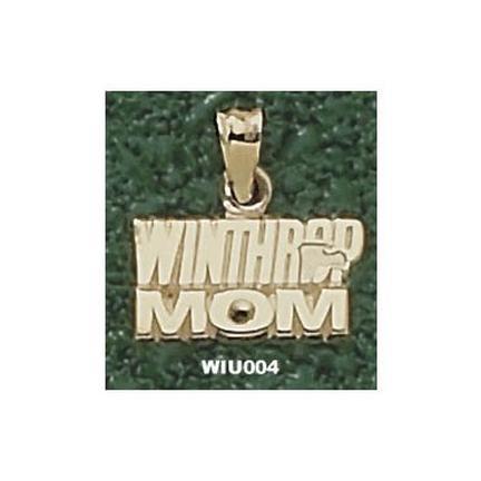 "Winthrop Eagles ""Winthrop Mom"" Pendant - 10KT Gold Jewelry"