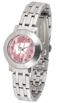 Wisconsin Badgers Dynasty Ladies Watch with Mother of Pearl Dial