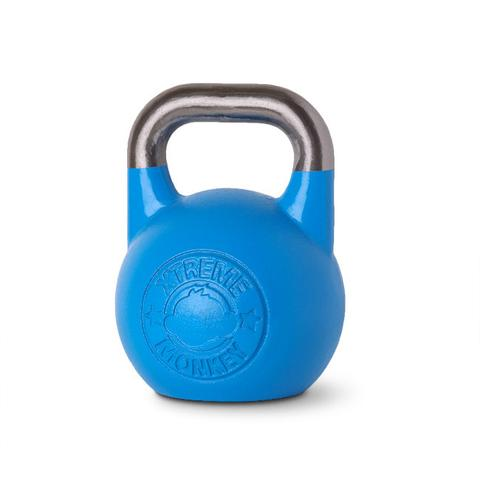 Xtreme Monkey XM-3543 12 kg Steel Competition Kettle Bells - Blue & Silver