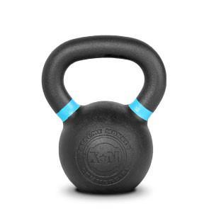Xtreme Monkey XM-4603 10 kg Commercial Cast Iron Kettle Bells - Black & Blue
