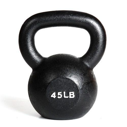York Barbell 15145 45 lb. Kettlebell