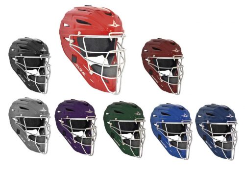 Youth System Seven Catcher's Head Gear / Helmet from All-Star