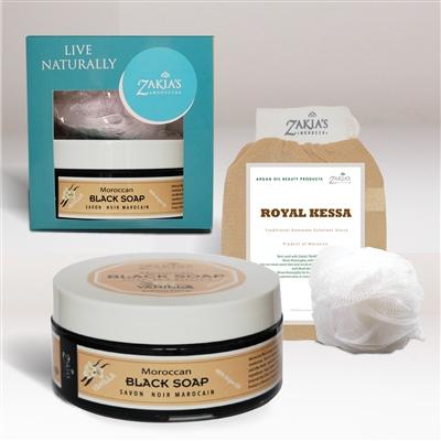 Zakias Morocco Spec-107 Moroccan Vanilla Soap Black