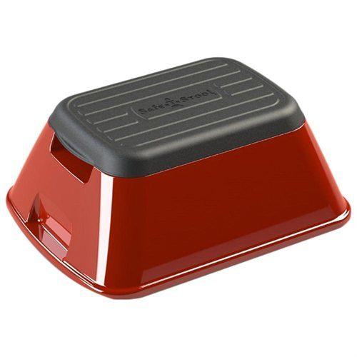 eNNOVEA life ENSTS500B Anti-Tip Safe-T-Stool & Carry Basket Blue