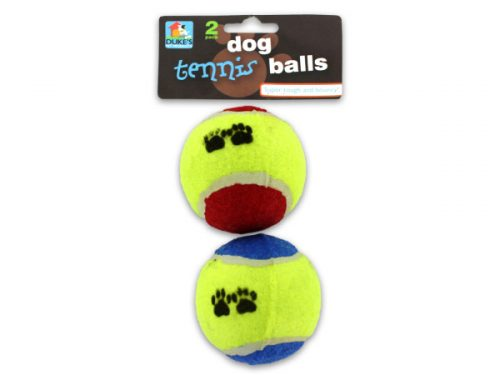 2 Pack dog toy tennis balls - Pack of 24
