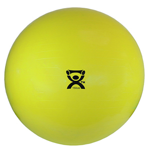60 in. Inflatable Exercise Ball - Yellow