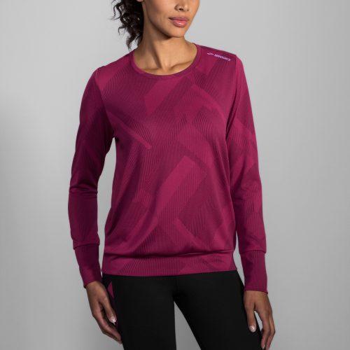 Brooks Array Long Sleeve Top: Brooks Women's Running Apparel