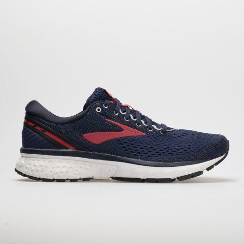Brooks Ghost 11: Brooks Men's Running Shoes Navy/Red/White