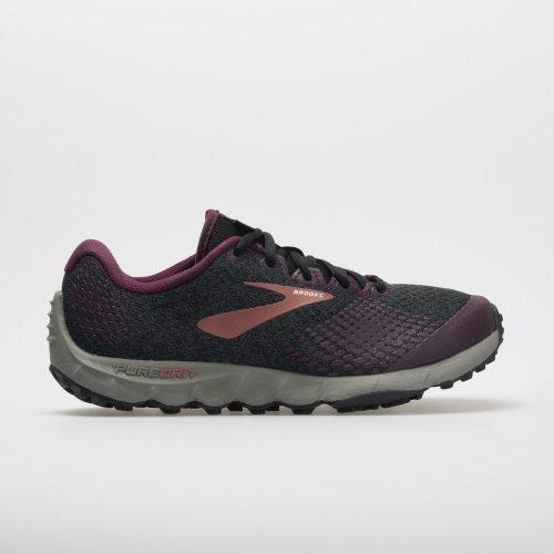 Brooks PureGrit 7: Brooks Women's Running Shoes Black/Purple/Grey