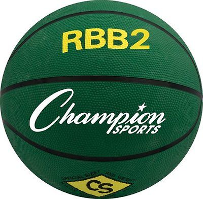 Champion Sports 04306 27.5 in. Basketball Green