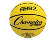 Champion Sports 0493 27.5 in. Junior Size Instituional Rubber Basketball