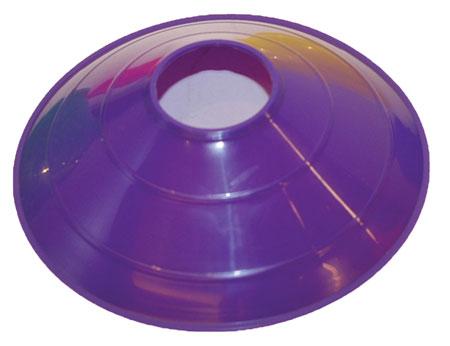 Champion Sports 21369 Low Profile Disc Cone Purple