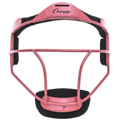 Champion Sports FMYPK Youth Softball Fielders Face Mask Pink