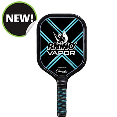 Champion Sports VAPOR 9.6-9.8 oz 6 in. Handle Aluminum Pickleball Paddle