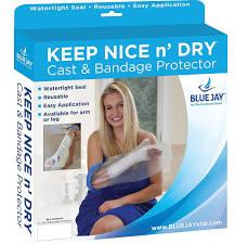 CompleteMedical BJ110112 Waterproof Cast & Bandage Protector Adult Wide Short Leg