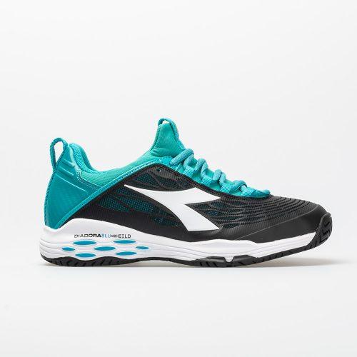 Diadora Speed Blushield Fly AG: Diadora Women's Tennis Shoes Black/Ceramic/White