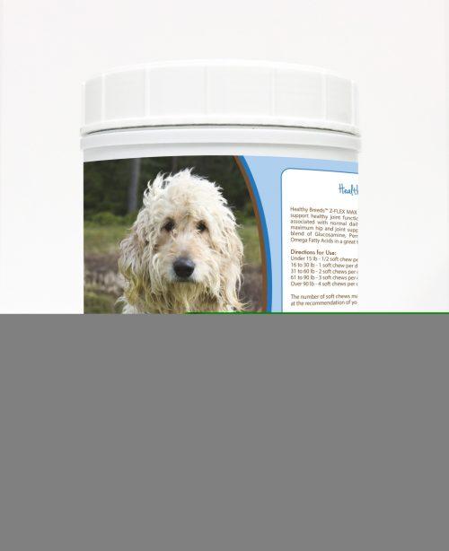 Healthy Breeds 840235107422 Goldendoodle Z-Flex Max Hip & Joint Soft Chews - 170 count