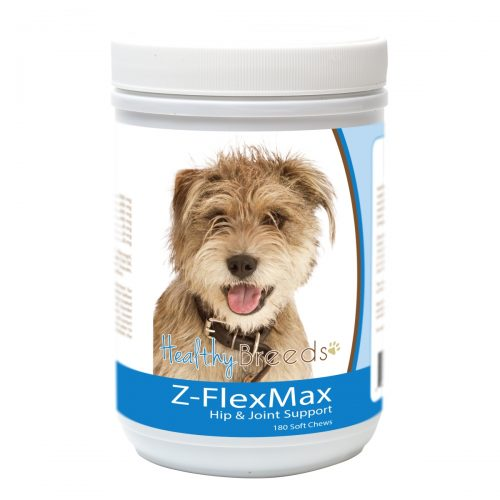 Healthy Breeds 840235155706 Mutt Z-Flex Max Dog Hip & Joint Support - 180 Count
