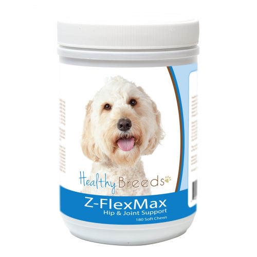Healthy Breeds 840235155805 Labradoodle Z-Flex Max Dog Hip & Joint Support - 180 Count