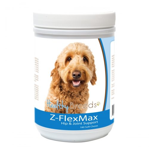 Healthy Breeds 840235155881 Goldendoodle Z-Flex Max Dog Hip & Joint Support - 180 Count