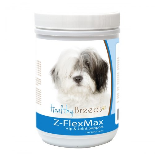 Healthy Breeds 840235156086 Old English Sheepdog Z-Flex Max Dog Hip & Joint Support - 180 Count