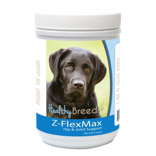 Healthy Breeds 840235156246 Labrador Retriever Z-Flex Max Dog Hip & Joint Support - 180 Count