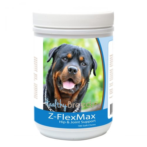 Healthy Breeds 840235156383 Rottweiler Z-Flex Max Dog Hip & Joint Support - 180 Count