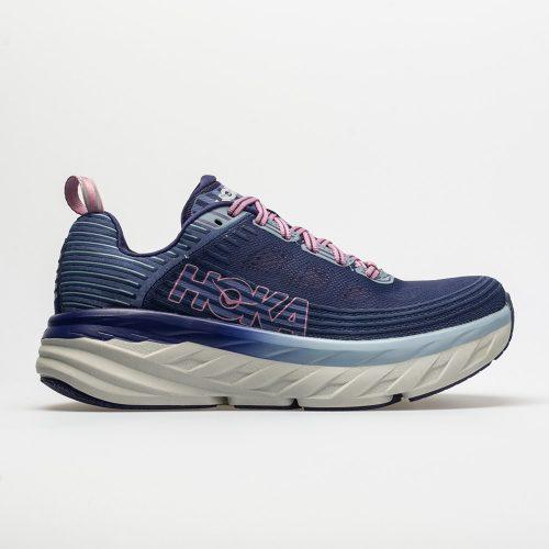 Hoka One One Bondi 6: Hoka One One Women's Running Shoes Marlin/Blue Ribbon