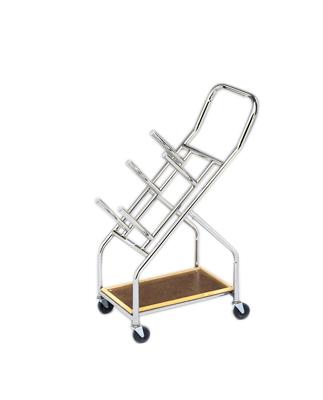 Iron Disc Weight - Mobile Cart