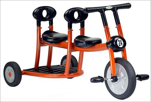 Italtrike 200-10 Orange Pilot 200 Tricycle 2 Seats
