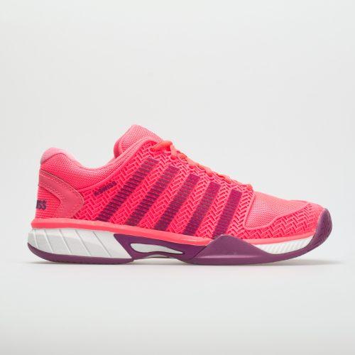 K-Swiss Hypercourt Express Junior Neon Pink/Deep Orchid: K-Swiss Junior Tennis Shoes