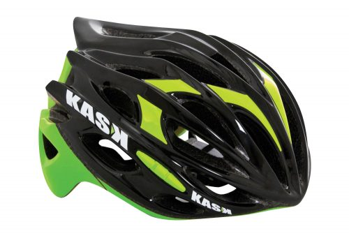 Kask Mojito Helmet - black/lime, medium
