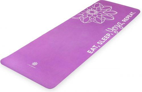 Life Energy 3204CYM Ekosmart Cork Yoga Mat with Yoga Strap