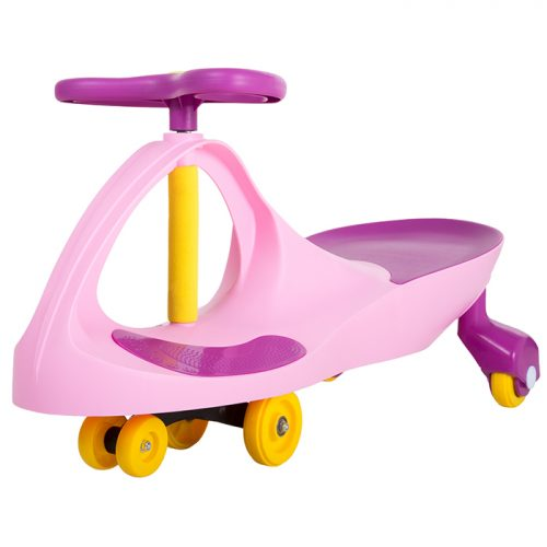 Lil Rider M370049 Ride on Toy Wiggle Car by Lil for Boys & Girls Pink & Purple